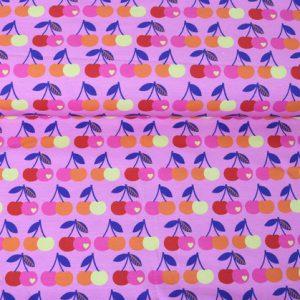 """Jersey """"Kirschen"""" pink von by Graziela, Swafing"""