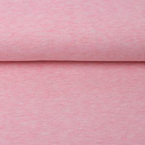 Kuschel-Sweat rosa melange