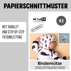 #2PP Papierschnitt Bindemütze + Booklet