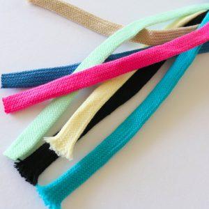 3 Meter Hoodieband Flach-Kordel, 10 mm