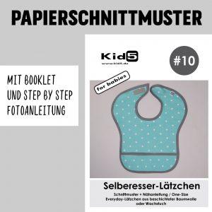 #10PP Papierschnitt Selberesser-Lätzchen + Booklet