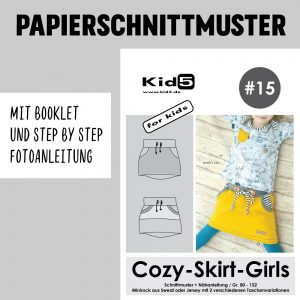 #15PP Papierschnitt Cozy-Skirt-Girls + Booklet