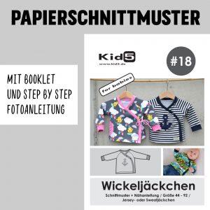 #18PP Papierschnitt Wickeljäckchen + Booklet