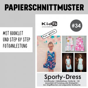 #34PP Papierschnitt Sport-Dress + Booklet