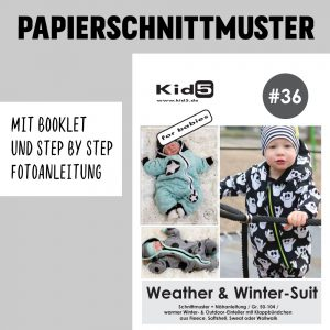 #36PP Papierschnitt Weather & Winter-Suit + Booklet
