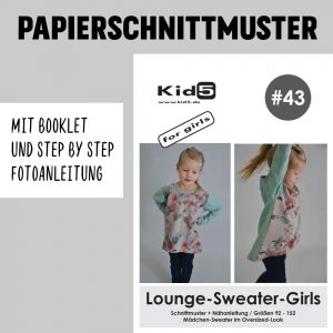 #43PP Papierschnitt Lounge-Sweater-Girls + Booklet