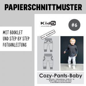 #6PP Papierschnitt Cozy-Pants-Baby + Booklet