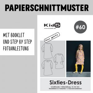#60PP Papierschnitt Sixties-Dress + Booklet