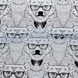 """Forest-Collection Bear"" ecru/schwarz"