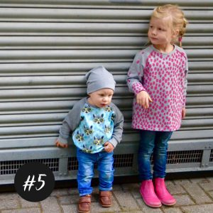 #5 Raglan-Sweater-Kids  eBook + Video