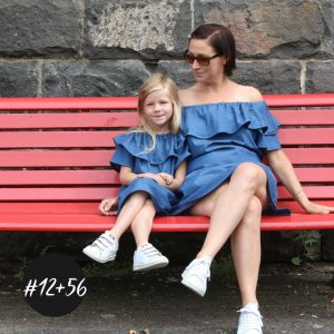 SET #12 & #56 Dress and Blouse Kombi Kids and Women  eBook +Video