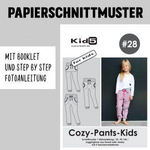 #28PP Papierschnitt Cozy-Pants-Kids + Booklet