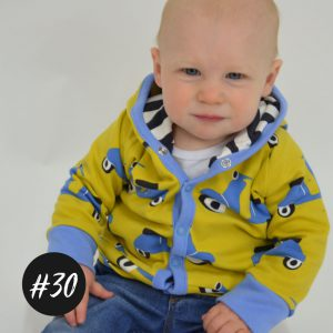 #30 Hooded-Baby-Jacket  eBook