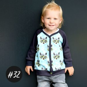 #32 Baby-Cardigan  eBook  +Video