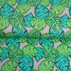 Reststück!  90×150 cm Monstera Sweat by Cherry Picking