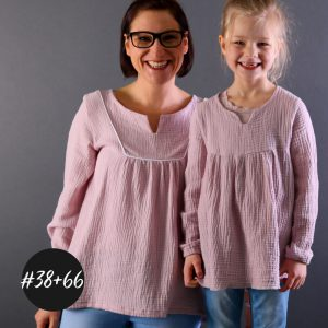 SET #38 #66 Set Bohemian Dress and Blouse Kids und Women  eBook  +Video