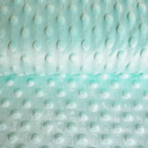 "Kuschel-Fleece ""Minky"" in mint"