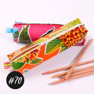 #70 Pencil-Pouch  freeBook +Video