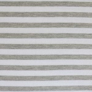 """Sweat """"Streifen"""" in grau-melange/weiß"""