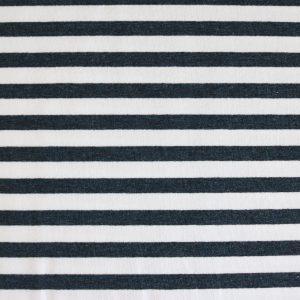 """Sweat """"Streifen"""" in marine-melange/weiß"""
