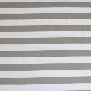"""Jersey """"Maxi-Streifen"""" grau/ weiß"""
