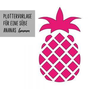 """Plotterdatei """"Pineapple"""""""