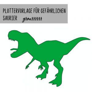 """Plotterdatei """"Dinosaurier"""""""