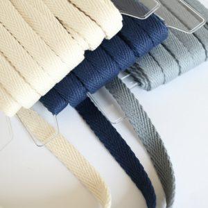 Midi Hoodie-Kordel 1,5 cm breit, Flachkordel