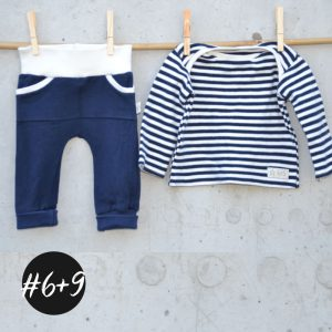 SET #6 #9 Baby-Babysic-Shirt und Cozy-Pants-Baby  eBook +Video