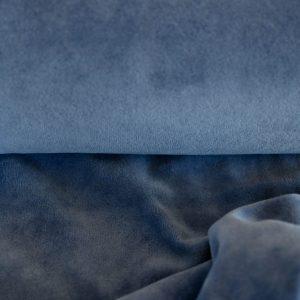 Nicki in jeansblau soft und kuschelig