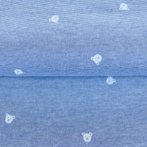 "Jersey ""little Bears "" blau/ weiß gestreift"