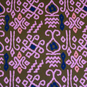 "Sweat ""Ikat Imperial"" by jolijou in khaki/rose"