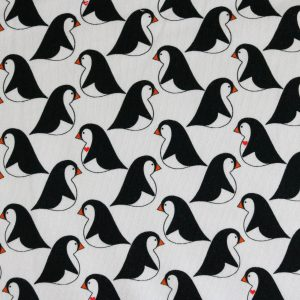 "Sweat ""Love the Penguin"" by Cherry Picking in weiß/schwarz"