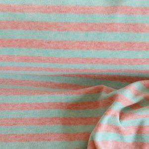"Nicky ""Streifen"" in rosé/mint"