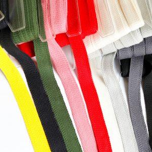 Hoodie-Kordel XXL 2,5 cm extra breit/ Baumwoll-Tresse-Einfassband (Farbe wählen)
