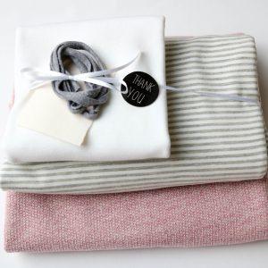 "Stoff-Paket ""Stricksweat rosa"" +SnapPap"