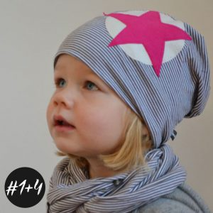 SET #1 #4 Family-Beanie und Loop  eBook + Video