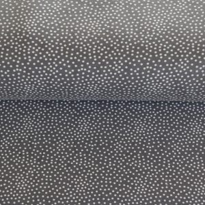 "Soft-Sweat ""Tiny Dots"" in grau/weiß"