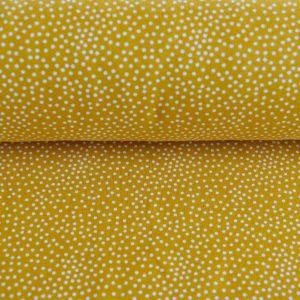 """Soft-Sweat """"Tiny Dots"""" in senf/weiß"""
