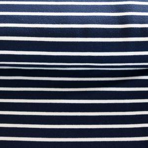 "Soft-Sweat ""Marine Stripe Maxi"" in marine/weiß"