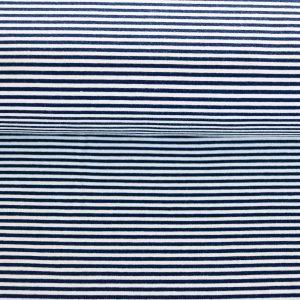 "Soft-Sweat ""Marine Stripe Mini"" in marine/weiß"