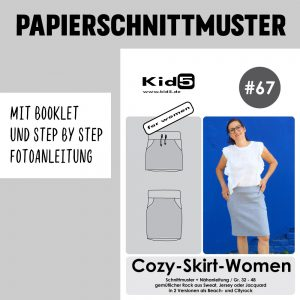 #67PP Papierschnitt Cozy-Skirt-Women + Booklet