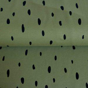 "Sweat ""URBAN Dots"" oliv/ schwarz"