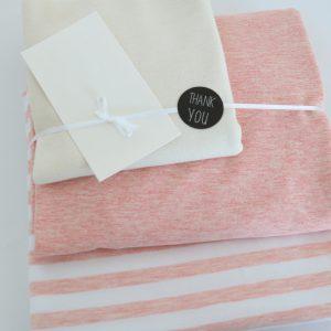 """Stoff-Paket """"Ringel rose"""" +SnapPap"""
