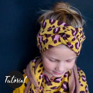 Bandeau-Haarband für Sommer und Winter / nur Videotutorial