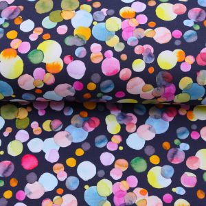 "Soft-Sweat ""Watercolour Confetti"" in marine/bunt"