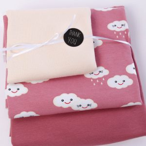 "Stoff-Paket ""HAPPY-CLOUD altrosa"""
