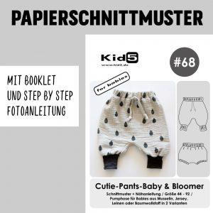 #68PP Papierschnitt Cutie Pants und Bloomer + Booklet