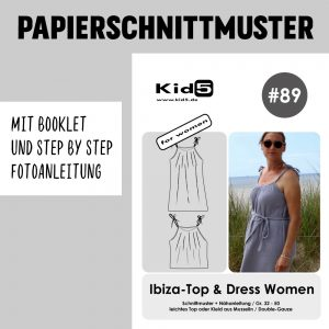 #89PP Papierschnitt Ibiza Top und Dress Women + Booklet