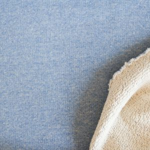 "Glamour-Sweat in bleu mit ""Glitzer"""